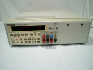 7桁半デジタルマルチメータ TR6871(3a0296)
