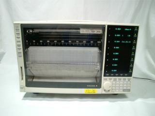 LR8100Eペンレコーダ 8ペン 3701-83 (LR8100E)(3c2712)