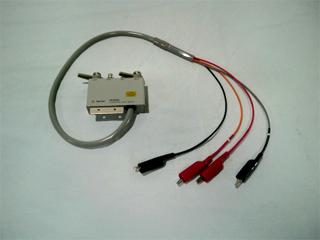 ワニグチクリップ付 テストリード 16089D(3f0139)