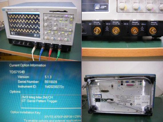 デジタルオシロスコープ TDS7154B(3b0041)