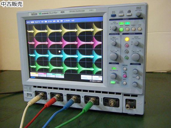 デジタルオシロスコープ(WaveSurfer 424)