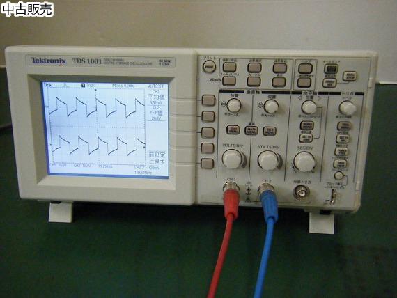 デジタルオシロスコープ(TDS1001)