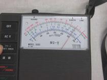 電池式絶縁抵抗計(100V 250V 1000V) 3303(3m3164)